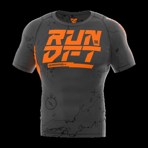 Férfi rövidujjú sportfelső RunDefeated